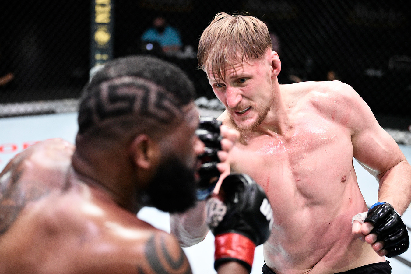 Александр Волков Кертис Блэйдс UFC ESPN