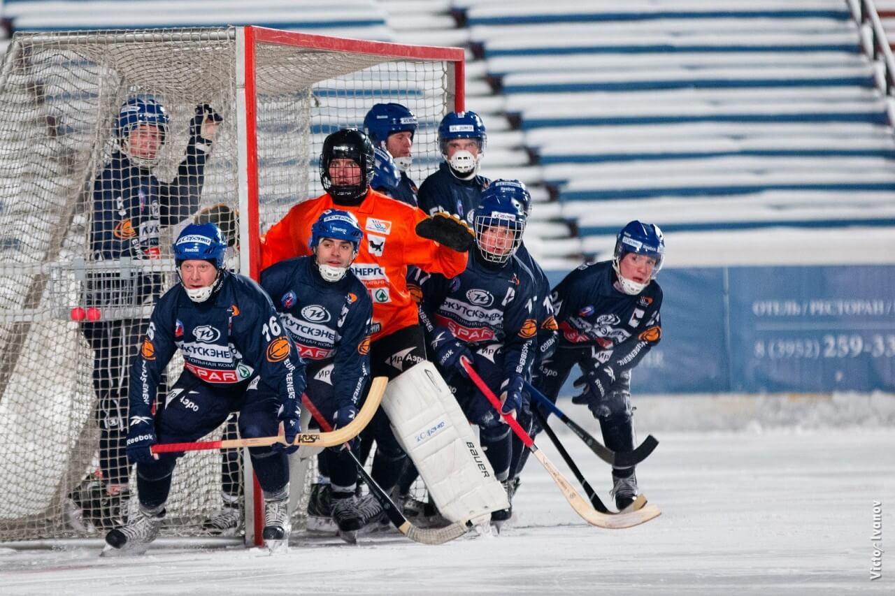 Хоккей с мячом Бенди ИРНИТУ Студенты Байкал-Энергия