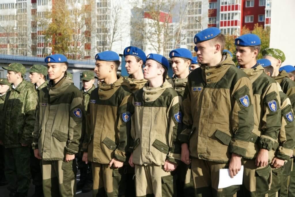 Новую форму вручили курсантам отряда «Вымпел Байкал» в Иркутске