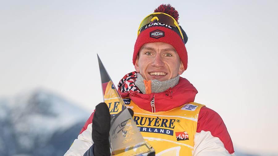 Большунова разница: наш лыжник выиграл «Тур де Ски» с двумя рекордами