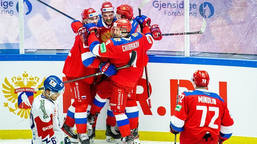Сборная России по хоккею в девятый раз выиграла Евротур