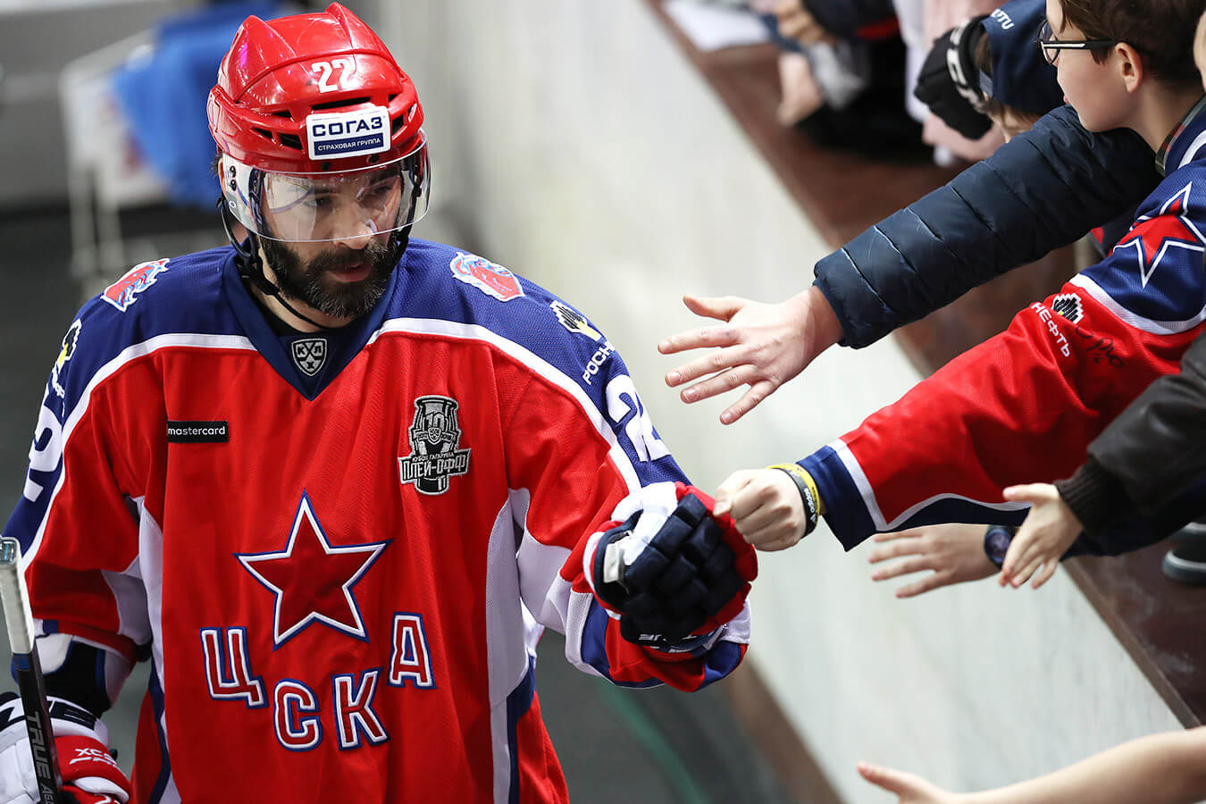 Воспитанник ангарского хоккея Александр Попов