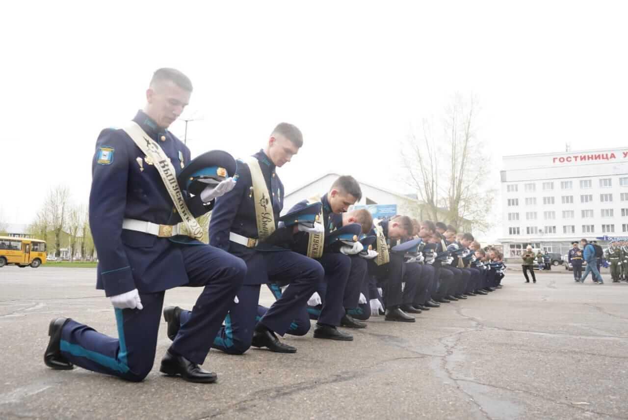 В Усольском Гвардейском кадетском корпусе состоялся юбилейный выпуск учащихся