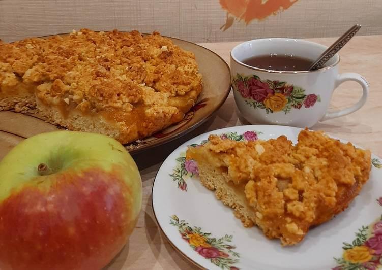 Яблочный пирог от шеф повара Ангарского Портала Новостей