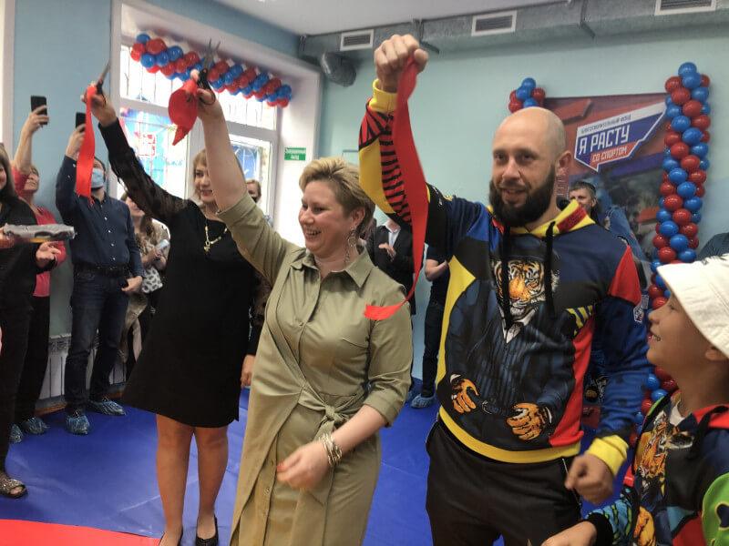 Школа борьбы открыта в Ангарске на базе Центра помощи детям, оставшимся без попечения родителей